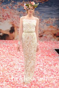 Claire Pettibone Fall 2013 Wedding Dress Collection via @Brides - Photo: Steve Eichner