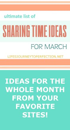 Ultimate List of Primary Sharing Time Ideas for March: Jesus Christ Is Our Savior