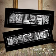 Love these personalized prints!!!