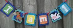 I am One Farm Theme Banner Farm Animal by LittleMissStarchick, $12.00