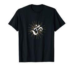 Om Energy Symbol chakra Mantra Meditation Yoga T-shirt Cool T Shirts, Funny Shirts, Energy Symbols, Chakra Mantra, Sweatshirts Online, Yoga Meditation, Branded T Shirts, Fashion Brands, Heather Grey