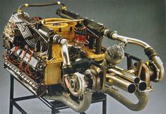 4.5L flat-12, twin turbo fitted to the Porsche 917