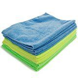 #7: Zwipes 735 Microfiber Towel Cleaning Cloths 12-Pack