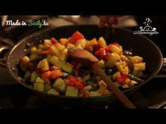 ricetta tipica siciliana: la caponata