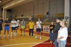Andrea Burlandi con la Squadra