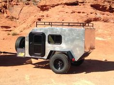 The All Over Rover off road camp trailer.  Built by Rover Trailers