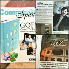 Check out Community Spirit Magazine featuring Dr. DJ Riner & Wink Optique! #winkoptique