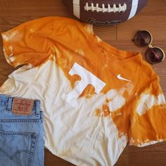 University of Tennessee gameday t-shirt Texas State Bobcats, Distressed Tee, University Of Tennessee, Kids House, Diys, Crafting, Trending Outfits, T Shirt, Closet