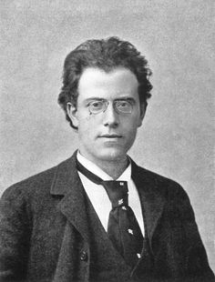 Gustav Mahler (1860–1911) late-Romantic Austrian composer & one of the leading conductors of his generation. A Jew, he was born in the village of Kalischt, Bohemia, in what was then the Austrian Empire, now Kaliště in the Czech Republic. Mahler made his New York debut at the Metropolitan Opera on 1 January 1908, when he conducted Wagner's Tristan und Isolde in the cut version still standard in New York, though long since superseded in Vienna.