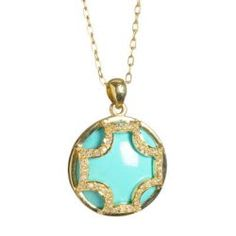 Turquoise & gold....