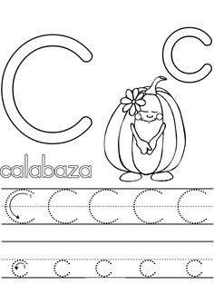 Caligrafia letra c