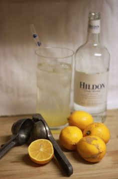 Lemon Bubbly   Mineral Water  2 Meyer Lemons  2 squeezes of Stevia  Ice
