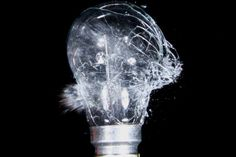 why the huge sound will come when  electric bulb burst out