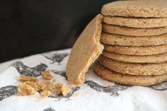Vanilla Almond Shortbread Cookies