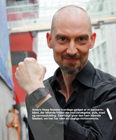 Anders Høgh Nissen, DR Harddisken, fotograferet til Samdata Magasinet