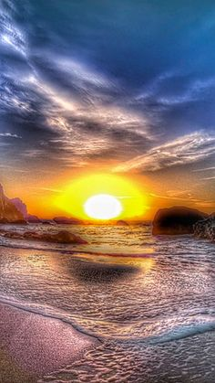Beautiful Nature Scenes, Beautiful Sunrise, Amazing Nature, Beautiful Landscapes, Sunset Pictures, Nature Pictures, Pastel Sunset, Beach Landscape, Landscape Pictures