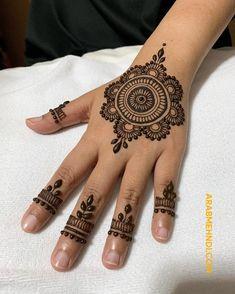 50 Most beautiful Rawalpindi Mehndi Design (Rawalpindi Henna Design) that you can apply on your Beautiful Hands and Body in daily life. Circle Mehndi Designs, Round Mehndi Design, Finger Henna Designs, Indian Mehndi Designs, Back Hand Mehndi Designs, Latest Bridal Mehndi Designs, Mehndi Designs For Beginners, Mehndi Design Photos, Henna Designs Easy
