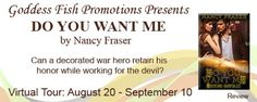 REVIEW TOUR & #GIVEAWAY - Do You Want Me by Nancy Fraser - #Erotic, #Romance, 5 out of 5 (exceptional), @Mommy_Amers Goddess Fish Promotions  (September)