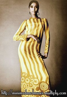 In 1966, Donyale Luna became the first black supermodel in this Richard Avedon shoot for Vogue, here wearing Ossie Clark