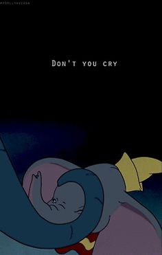 "Baby Mine from ""Dumbo"" - You may as well rip your heart out and stomp on it. This song is not for the faint of heart and neither is this dumbo gif. It's a beautiful and emotional song that normally gets swept under the rug. Disney Pixar, Film Disney, Disney Songs, Disney Quotes, Disney And Dreamworks, Disney Animation, Disney Magic, Disney Art, Disney Characters"