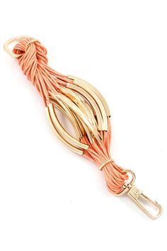 Bobby Bracelet in Soft Apricot | Awesome Selection of Chic Fashion Jewelry | Emma Stine Limited