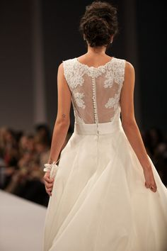 Anne Barge wedding dress Fall 2013- Stunning back detail