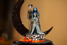 cake toppers.  I wish my fiance actually liked Tim Burton.