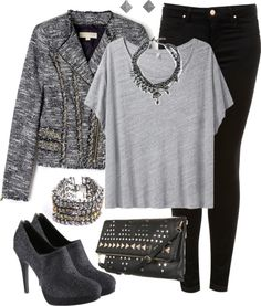 """Casual Dinner Outfit 3"" by trinavokes on Polyvore"