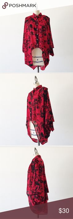 Unique Kimono Blouse MINKPINK oversized Kimono blouse. Unique style. Features above. Excellent condition. Urban Outfitters Tops