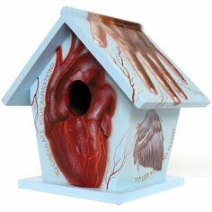 #Birdhouse by Laura Buss