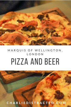 Proper Pizza at The Marquis of Wellington, Bermondsey, London