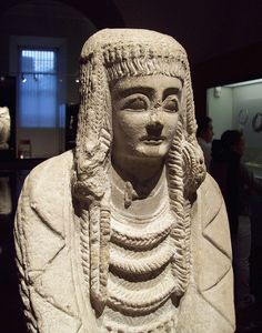 Dama del Cerro de los Santos, also known as Gran Dama Oferente, is an Iberian sculpture from the 2nd century BCE, that is now in National Archaeological Museum of Spain in Madrid.