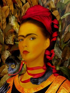 Frida Kahlo Paintings Interpreted as Photos Very Beautiful Woman, Artist Painting, Fascinator, Hair Inspiration, Photo Art, Kahlo Paintings, Mona Lisa, The Incredibles, Photos