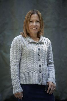 Ravelry: Peplum Cardigan pattern by Amanda Crawford