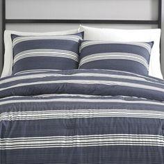 Nautica Craver Reversible Comforter Set Size: Twin/Twin XL Comforter + 1 Sham Queen Size Duvet Covers, Duvet Cover Sets, Ruffle Duvet, King Size Pillows, Twin Xl Comforter, Ashley Home, Decoration, Comforters, Bedrooms