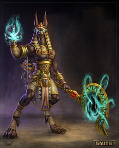 Official Smite Anubis Concept by PTimm on DeviantArt