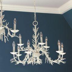 9-Light Coral Chandelier