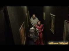 2011 Haunted House Drop Panel Hallway Scare Video  This is sooo hilarious!