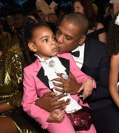 Blue Ivy Is 'The Most Beautiful Girl In The World' Dressed As Prince At The Grammys 2017