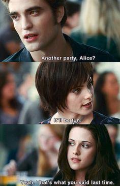 Eclipse. I kinda felt bad for Alice she tries her best.