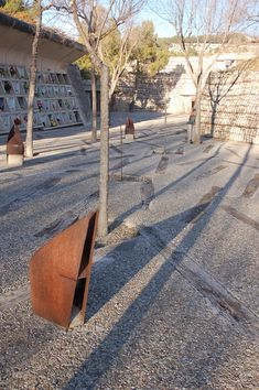 Igualada Cemetery by Enric Mirrales and Carme Pinos