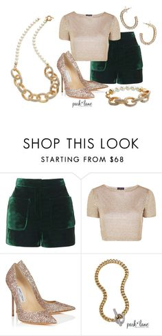 """""""Amazing"""" by parklanejewelry on Polyvore featuring Topshop and Jimmy Choo"""