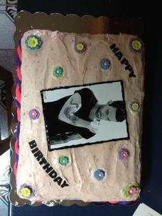 Fifty Shades Of Grey Birthday Cake Cupcakes  Cakes Pinterest - Adam levine birthday cake