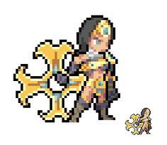 Sivir - League of Legends [sprite] by Eviscus.deviantart.com on @deviantART