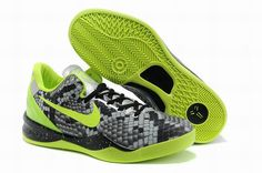 6462495ddcba Buy Buy Real Nike Zoom Kobe 8 System Graffiti Atomic Green Black Grey  583112 030 New Release from Reliable Buy Real Nike Zoom Kobe 8 System  Graffiti Atomic ...