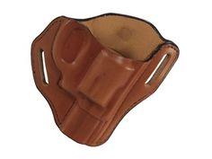 Bianchi 58 P.I. Belt Slide Holster S&W J frame 2 Leather