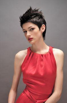 Sanrizz - Short Black straight hair styles (21033)