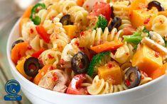 پاستای گیاهی با قارچ و سس سفید Plats Weight Watchers, Weight Watchers Salad, Tomate Mozzarella, Pasta Salad Italian, Cooking Recipes, Healthy Recipes, Top Recipes, Healthy Salads, Kitchen Recipes