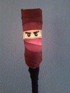 das-creativchen: Ninjago Laterne Nr.1 Anleitung Ninja Birthday, Diy For Kids, Crafts For Kids, Arts And Crafts, Diy Crafts, Sint Maarten, Lego Ninjago, Ninjago Party, Kids And Parenting