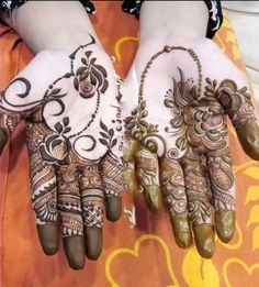 Explore Best Mehendi Designs and share with your friends. It's simple Mehendi Designs which can be easy to use. Find more Mehndi Designs , Simple Mehendi Designs, Pakistani Mehendi Designs, Arabic Mehendi Designs here. Khafif Mehndi Design, Floral Henna Designs, Mehndi Designs Book, Full Hand Mehndi Designs, Mehndi Designs 2018, Mehndi Designs For Girls, Mehndi Design Photos, Mehndi Designs For Fingers, Beautiful Mehndi Design